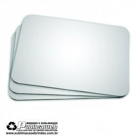 Mouse Pad Sublimatico espessura 3mm por 19x23cm