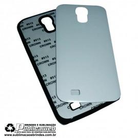 Capa 2D para Celular Preta para Sublimação Galaxy S4