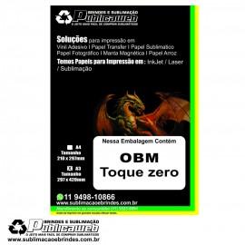 Papel OBM Toque Zero A3 pct c/ 5 folhas