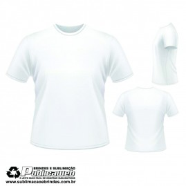 Camiseta Sublimatica 100% Poliéster Tamanho XP