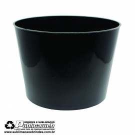 Balde de Pipoca 1.5L Preto c/ 1 Unidade
