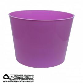 Balde de Pipoca 1.5L Rosa Claro c/ 1 Unidade