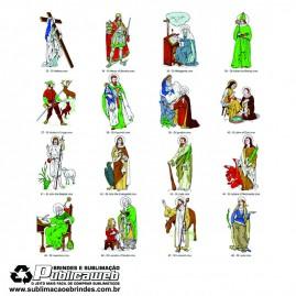 600 Artes Prontas para Sublimação de Imagens Religiosas