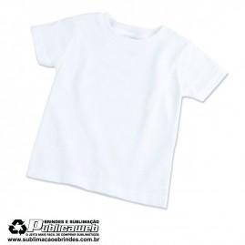 Camiseta 100% Poliéster Infantil Tamanho 12