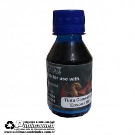Tinta Epson / HP Comestível 100ml Azul Suprema