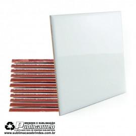 Azulejo Sublimatico Branco 20 x 20 mm c/ 2 Unidades