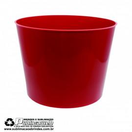 Balde de Pipoca 1.5L Vermelho c/ 1 Unidade