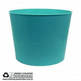 Balde de Pipoca 1.5L Azul Tiffany c/ 1 Unidade