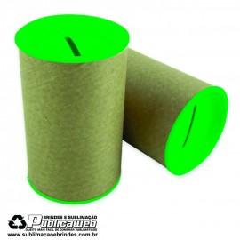 Cofrinhos Para Personalizar Verde 6x10 com 10 Unid.