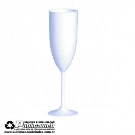 Taça de Champanhe Branca para transfer a Laser 200ml