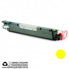 Toner Compatível HP CP1025 | CP1025NW | CE312A - Amarelo | Yellow