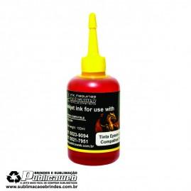 Tinta Epson de 100ml  na cor Amarela Suprema