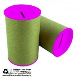 Cofrinhos Para Personalizar Pink 6x10 com 10 Unid.