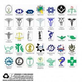 700 Artes Prontas e Vetores de Símbolos Curso Superior