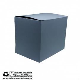 Caixa para Canecas de Porcelana Quadrada Sem Janela  c/ 10 Unidades