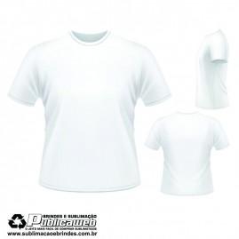 Camiseta Sublimatica 100% Poliéster Tamanho M